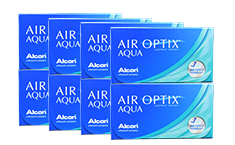Air Optix Aqua 8-Box Pack (24 Pairs)