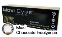 Maxi Eyes Colors Chocolate Indulgence Daily