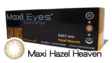 Maxi Eyes Colors Hazel Heaven Daily