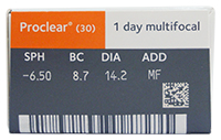 Proclear 1 Day Multifocal (30 Pack)